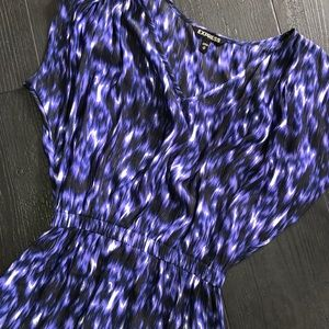 Express Dresses - Express High Low Dress Purple Black XS